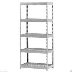 commercial wire shelving industrial commercial garage treadplate metal steel