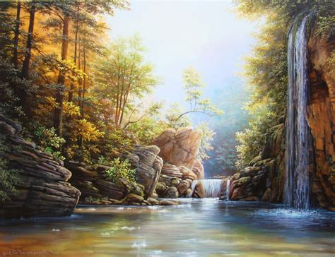Nature Paintings by Artists Who Draw Nature Paintings Of