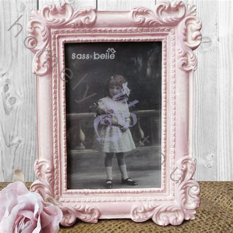 vintage style picture photo frame shabby chic home