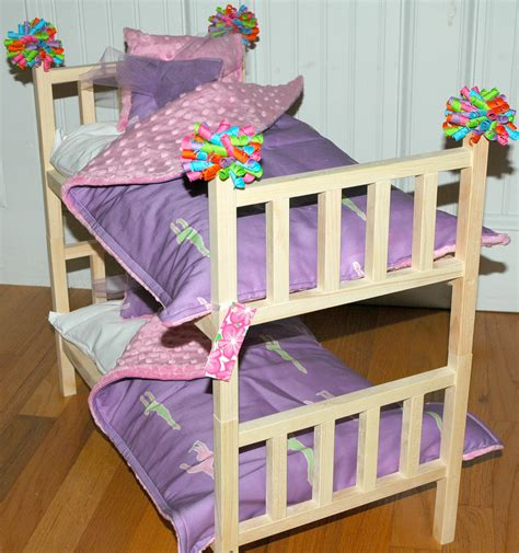 american girl doll mckenna bed doll bunk bed mckenna bunk bed with gymnastics by girldollbeds