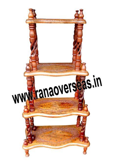 Wooden Corner Rack by Rana Overseas Inc Wooden Corner Racks