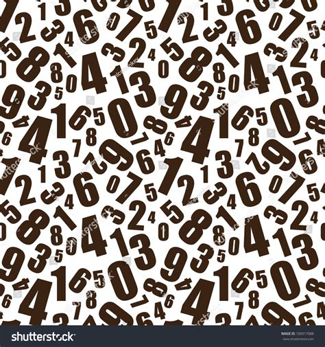 pattern for numbers in html simple black and white numbers seamless background pattern