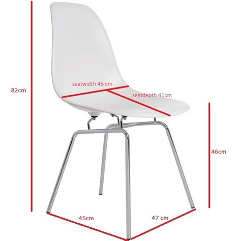 eames dsx chair charles eames dining chair dsx glossy design dining chair