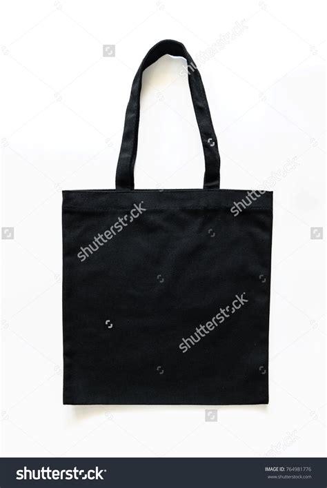 black tote bag mockup black canvas tote bag mockup fabric stock photo 764981776