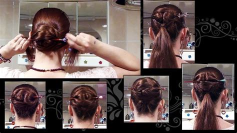 how to create hair stick hairstyles tips to jazz up hairst 5 ways to do a chinese bun long hair updo with hair