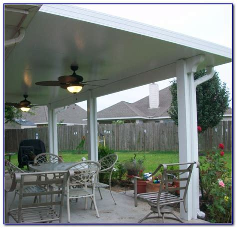 insulated aluminum patio roof panels patios home
