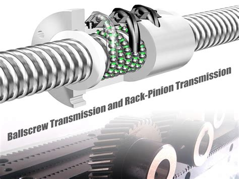 Cnc Rack And Pinion by A Comparision Of Cnc Router Ballscrew Transmission And