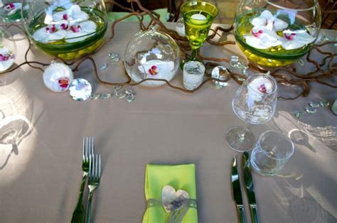Decoration Table Nature by Deco Table Mariage Nature