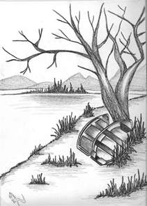15 best ideas about pencil drawings of nature on