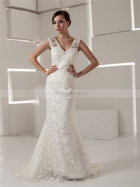 timeless sleeveless mermaid wedding dress