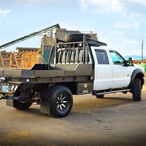 aluminum flat bed ford f350 aluminum flatbed in leopard style hpi black w