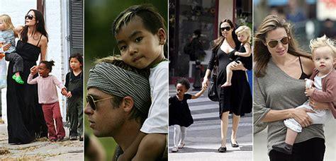 imagenes de la familia jolie pitt el look de la familia jolie pitt