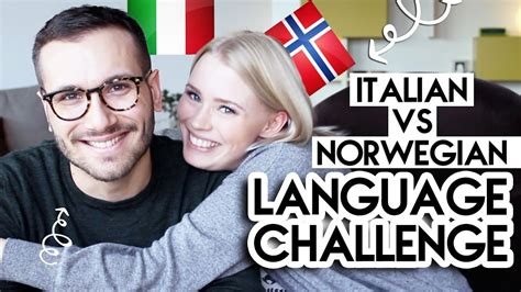challenge in italian language challenge italian vs