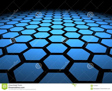 hexagon hex hexagons background stock illustration