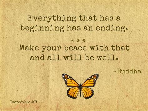 quotes about beginnings and endings quotesgram
