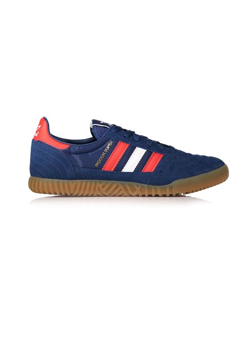 adidas indoor super adidas originals footwear indoor super blue trainers