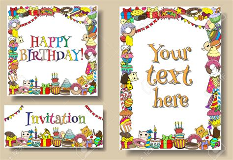 Design For Birthday Cards Borders 40 Border Designs Psd Vector Eps Format Download