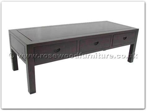 Black Wood Coffee Table Rosewood Black Wood Coffee Table With 3 Drawers Ffbwcoffee