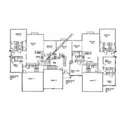 Triplex Floor Plans by Triplex Floor Plan Model In The Riverbend Subdivision In