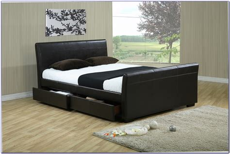 King Bed Frame With Storage Underneath Download Page Bed Frames With Storage Underneath