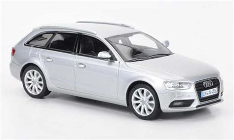 Audi A4 Avant Modellauto by Audi A4 Avant Silber 2012 Minichs Modellauto 1 43