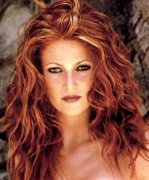 pitures of bronde hair red hair with blonde highlights get the look at home