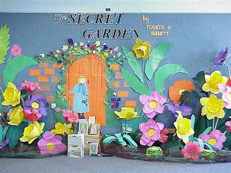 secret ideas for school the secret garden display literacy ideas