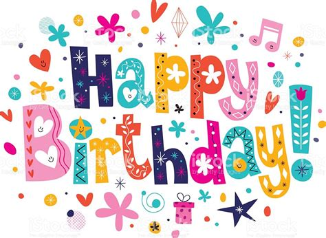 happy birthday notes design vector free vector graphic happy birthday stock vector art more images of 1950 1959
