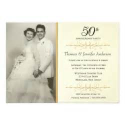 50th wedding anniversary invitation superdazzle custom invitations business