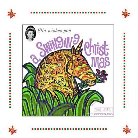 wishes you a swinging christmas wishes you a swinging christmas ella fitzgerald