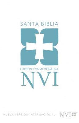libro santa biblia nvi edicion santa biblia edici 243 n conmemorativa nvi tapa dura nvi 9780829753820 comprar libro nvi
