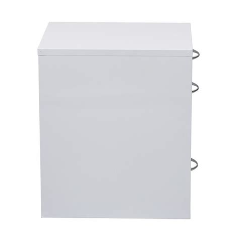 3 Drawer Filing Cabinet White by 3 Drawer Filing Cabinet In White Hpbf11