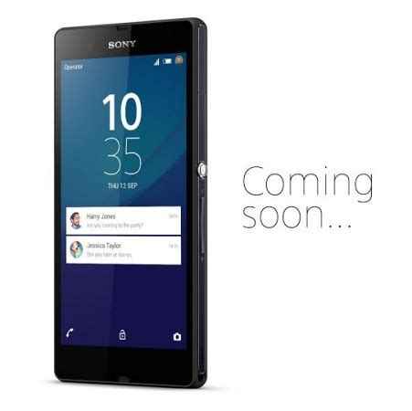 Hp Sony Xperia Android Lollipop xperia z teased with android 5 0 lollipop s lock screen notification feature update release