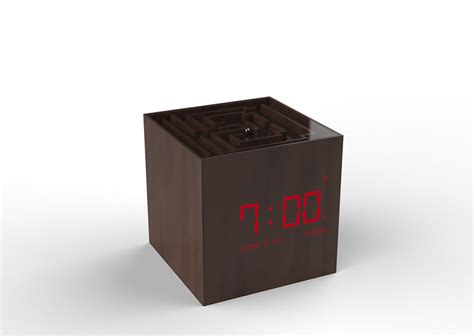 Puzzle Alarm Clock by Maze Alarm Clocks Puzzle Alarm Clock