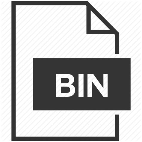 File Format Bin Adalah | bin extension file format icon icon search engine