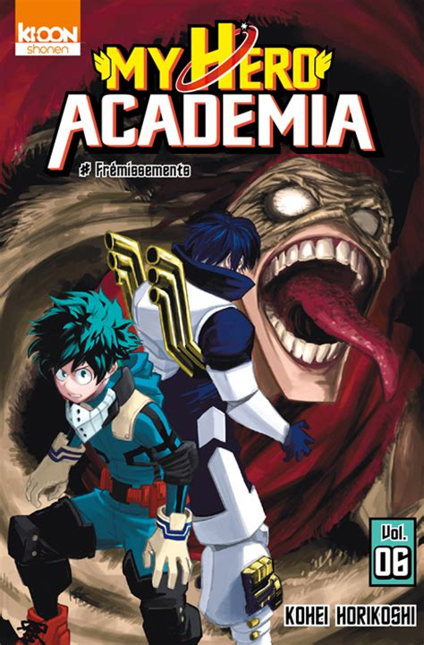 libro my hero academia 6 vol 6 my hero academia fr 233 missements manga manga news