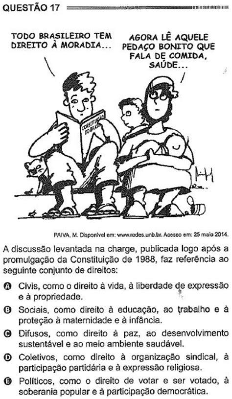 Gabarito comentado de história (ENEM-2014- Prova azul)