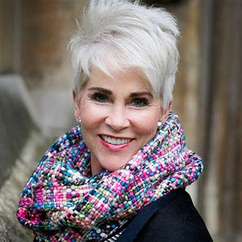 50 year old women with short grey hair short gray hairstyles for older women over 50 gray hair