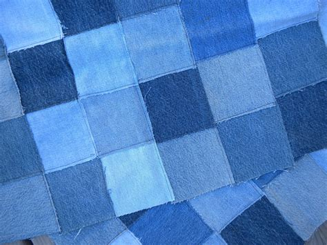 Denim Patchwork Fabric - kris peters more about denim