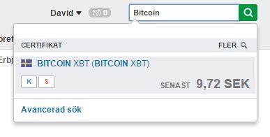 bitcoin xbt avanza bitcoin se 187 2015 187 maj