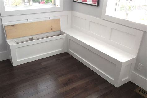 how to build bench seating bench seating with storage for kitchen pollera org
