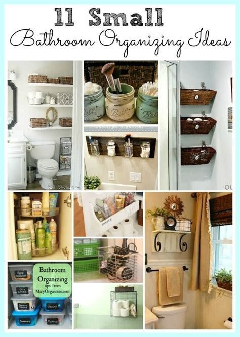 43 ideas how to organize your bathroom style motivation bathroom storage on pinterest shabby chic decor small