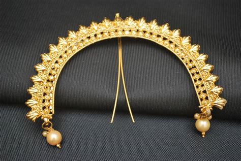 buy sia art jewellery juda pin with attached earrings for buy reeti fashions serial peshwa bajirao inspired juda