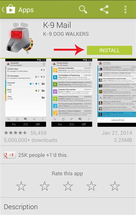Email Search App K 9 Mail For Android Techbytes
