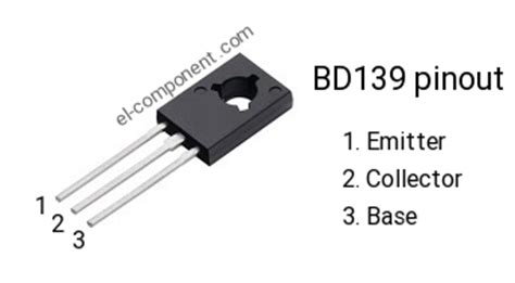 bd139 n p n transistor complementary pnp replacement pinout pin configuration substitute