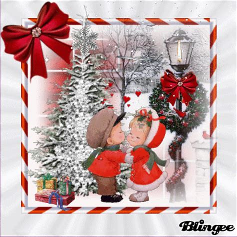 cute christmas love picture  blingeecom