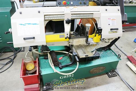 Used Grizzly Swivel Base Horizontal Bandsaw Quot Low Use