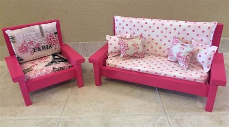 american girl couch american girl grace inspired 18 inch doll couch and chair