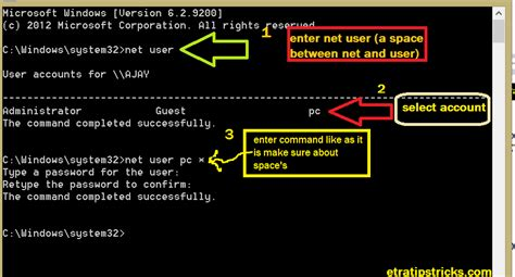 reset vista admin password command prompt hack administrator password using cmd to run