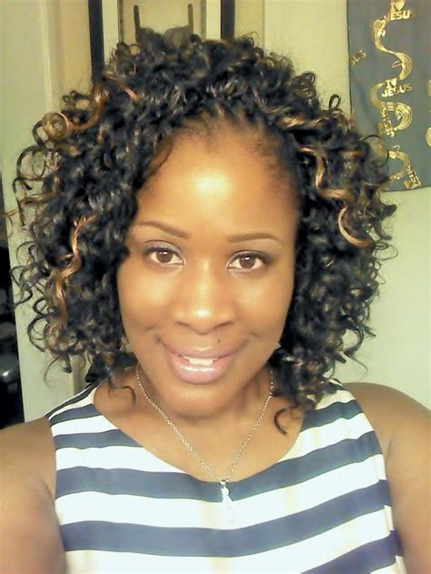 63 best images about crochet braids on pinterest freetress gogo curl styled by ms pk s crochet braids